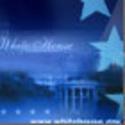 White_house_and_flag_usa