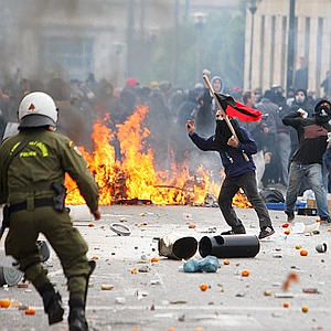 Greece Riots Anniversary