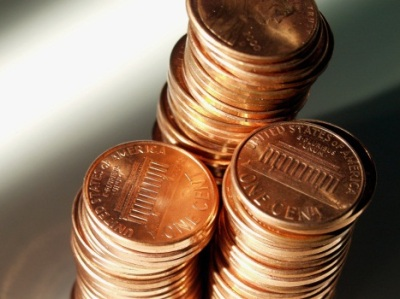 penny stack
