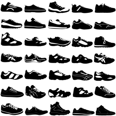 Athletic shoes