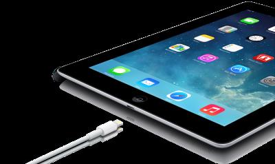 iPad, Apple, iOS7, mini, charging