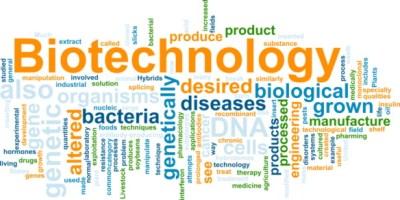 Biotechnology word cloud
