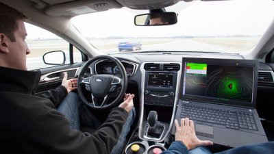 Ford DriverLess Car - 2014