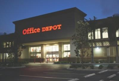 Office Depot night