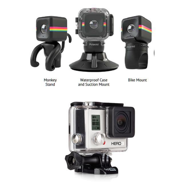 Polaroid vs GoPro