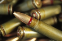 Close-up of a group of bullets