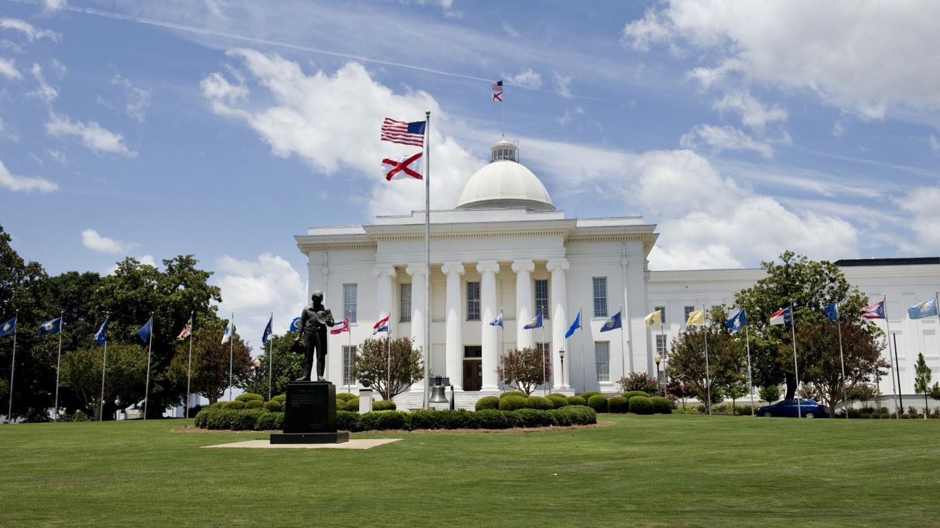 State Capital Building of Alabama.
