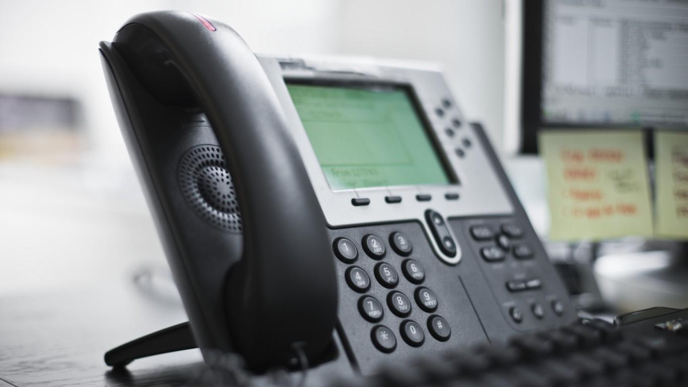 Telephone (landline) (office)