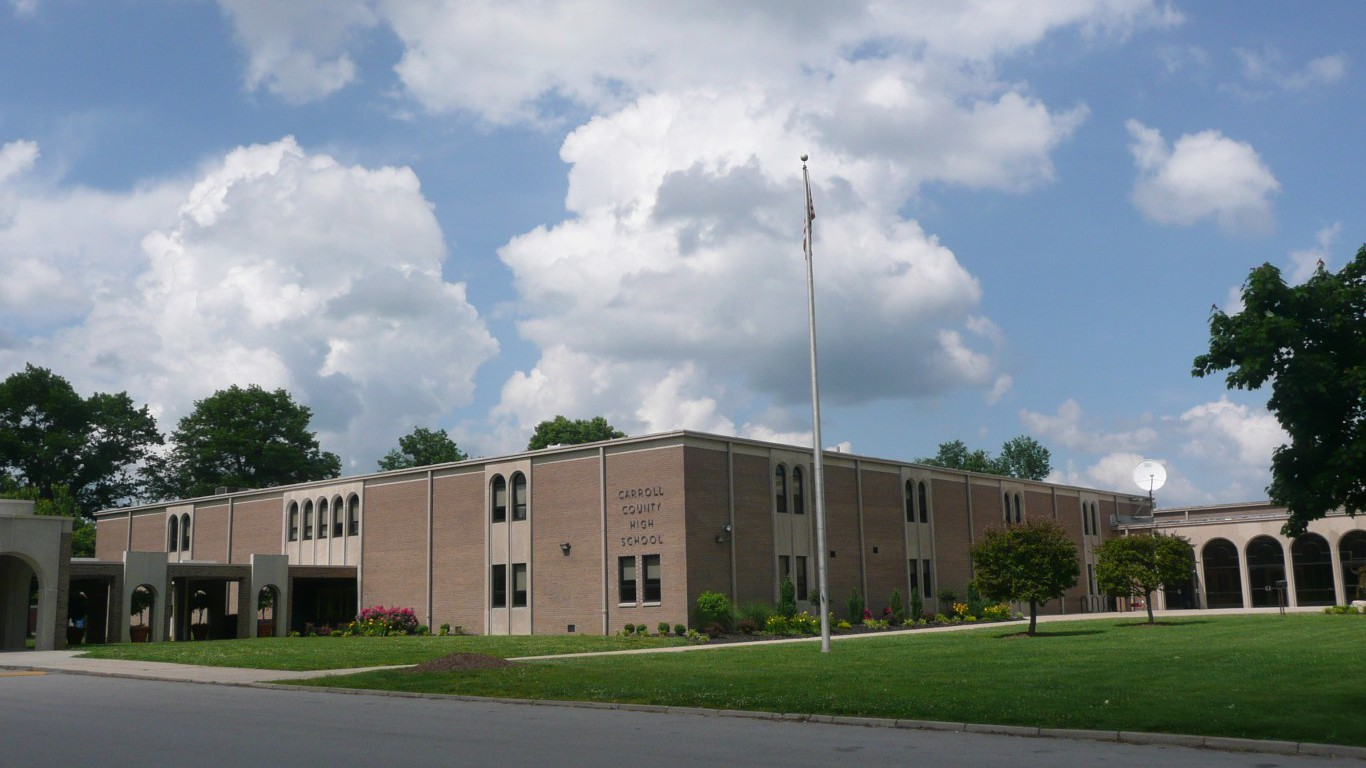 Carroll County High School, Carrollton, Kentucky