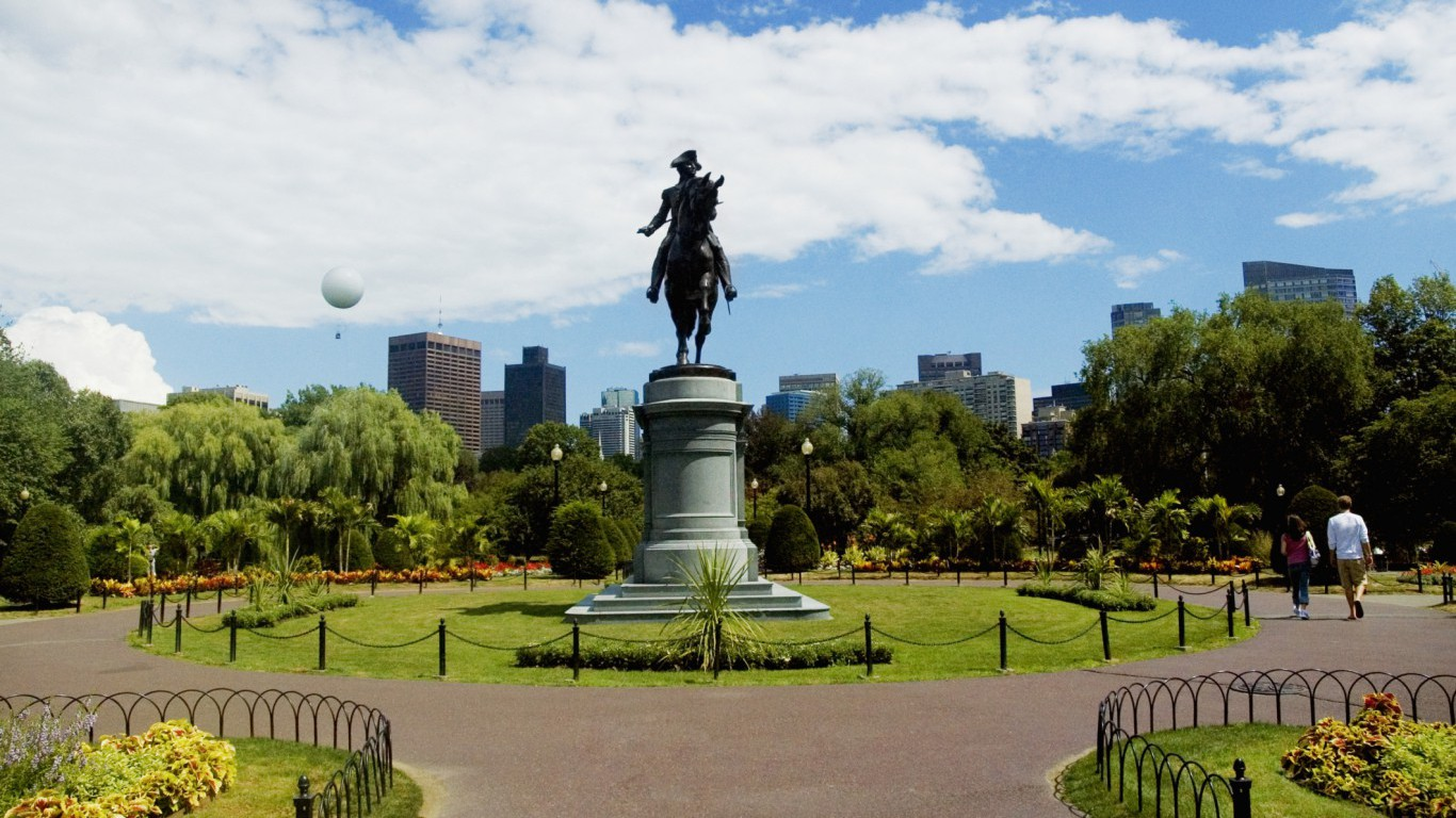George Washington Statue, Boston, Massachusetts