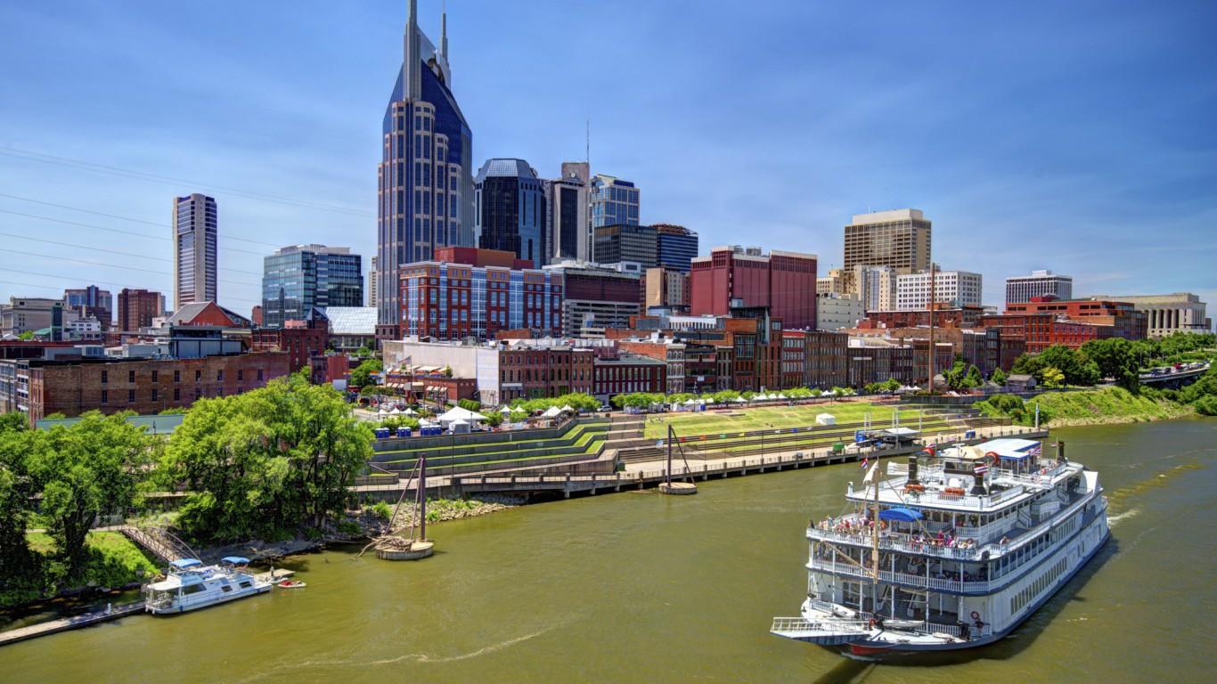 Nashville, Riverboat, Tennessee
