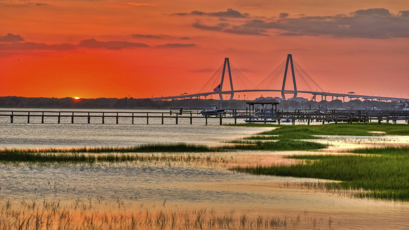 Charleston Sunset, South Carolina