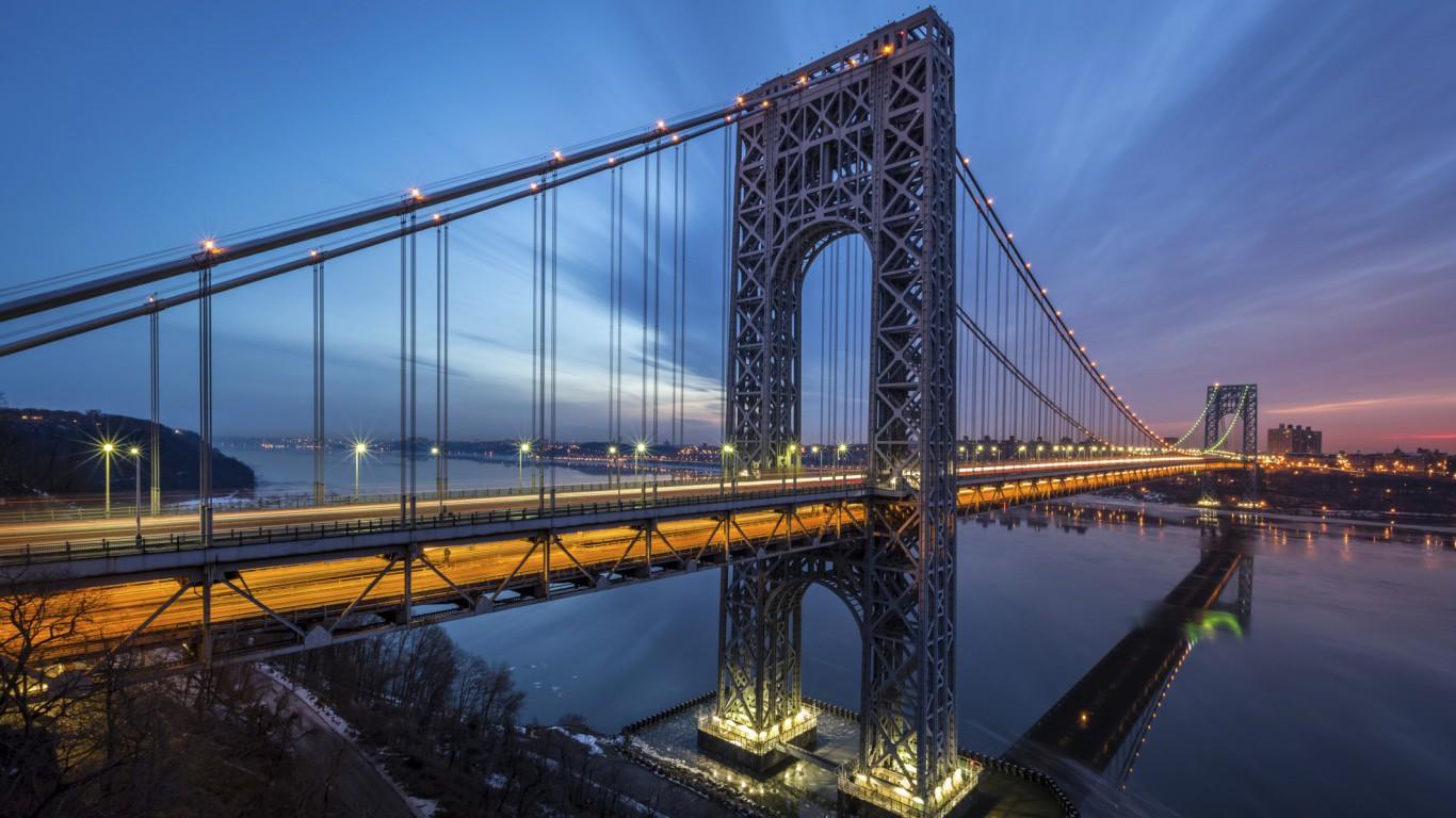 George Washington Bridge, New Jersey