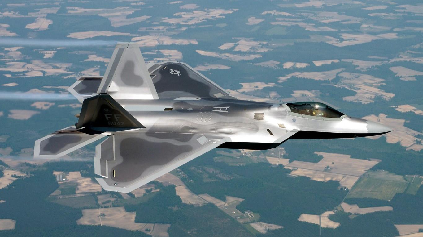 F-22 Raptor, Lockheed Martin