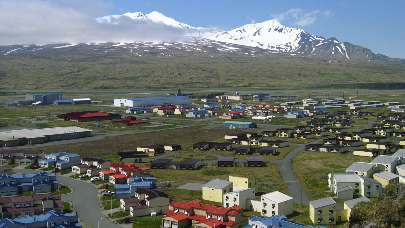 Aleutians West, Adak Island, Alaska