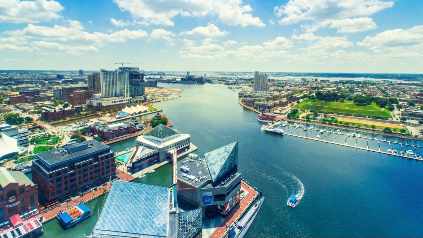 Baltimore Inner Harbor, Maryland