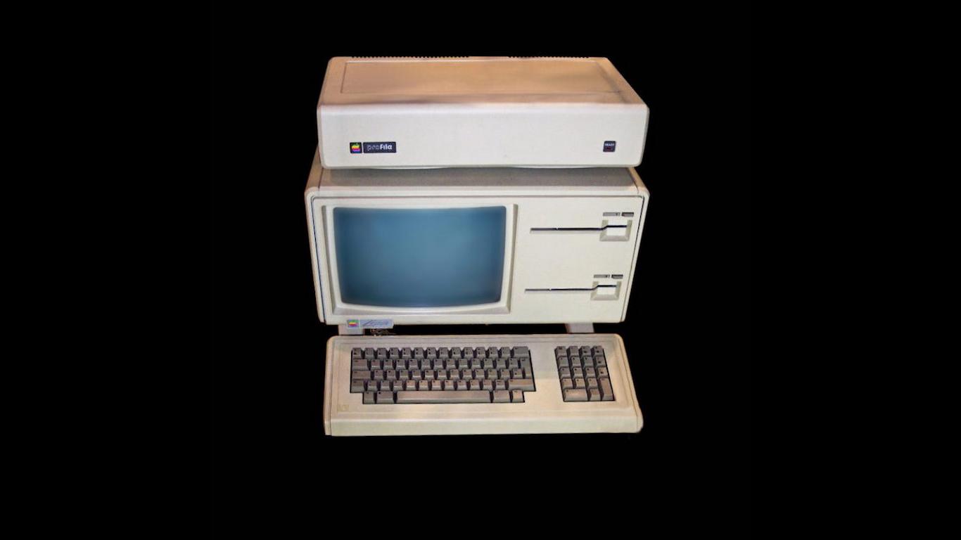 Apple Lisa, 1983