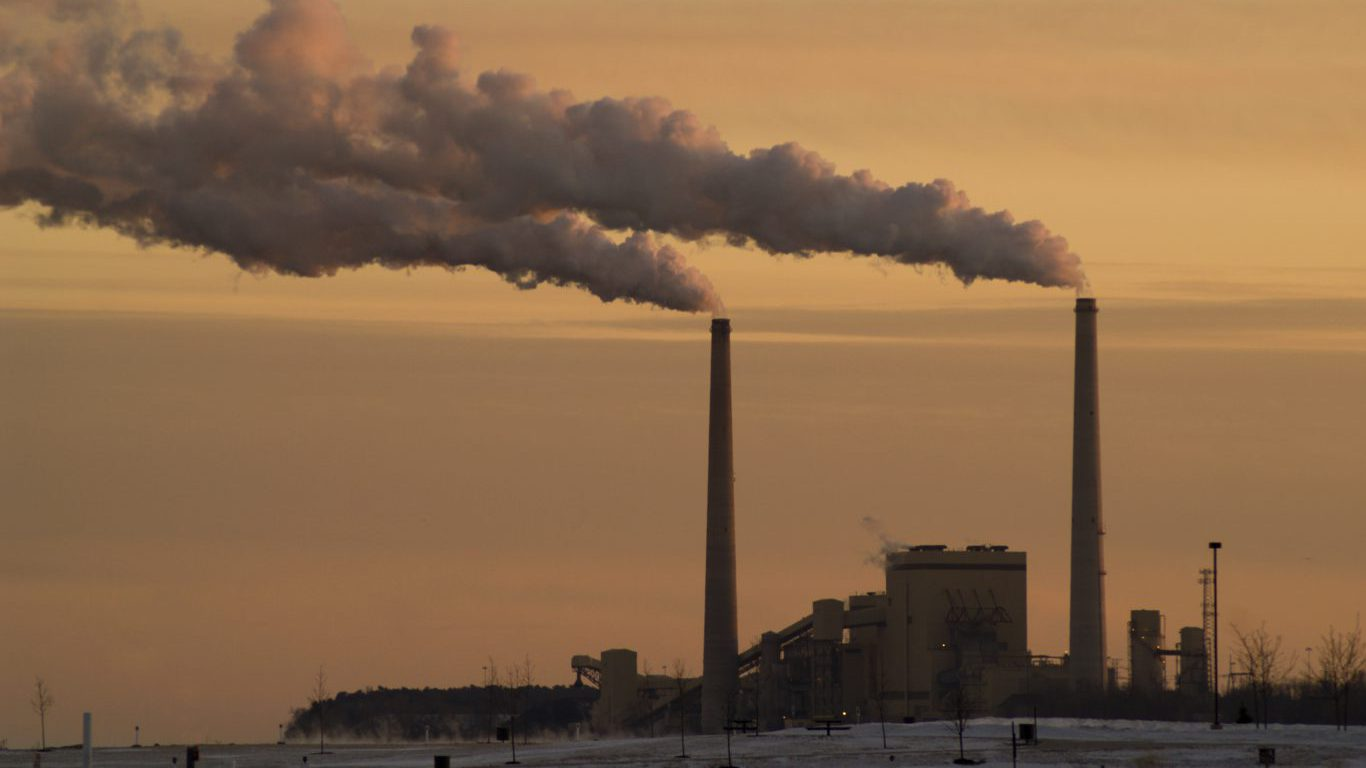 Coal Power Plant, Sheboygan, Wisconsin