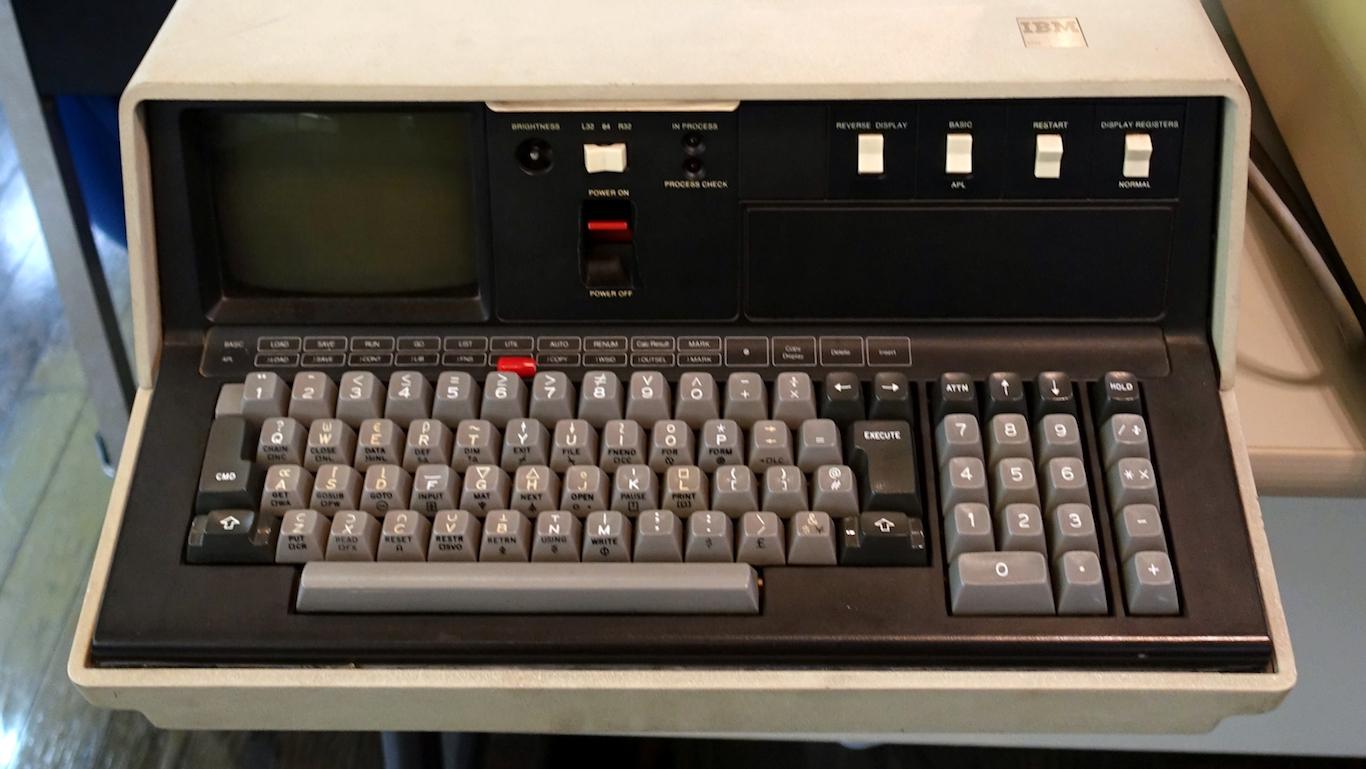IBM 5110, 1978