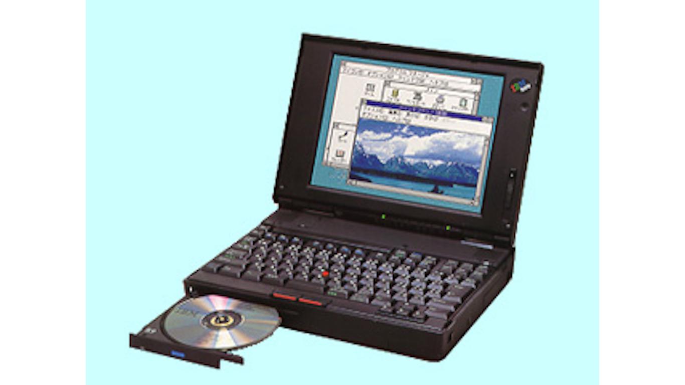 IBM Thinkpad 755CD, 1994