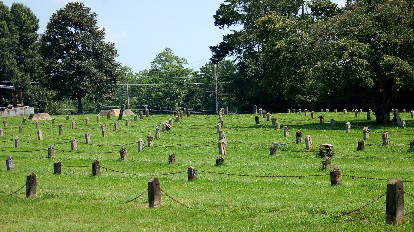 Morganton, North Carolina, Cemetery