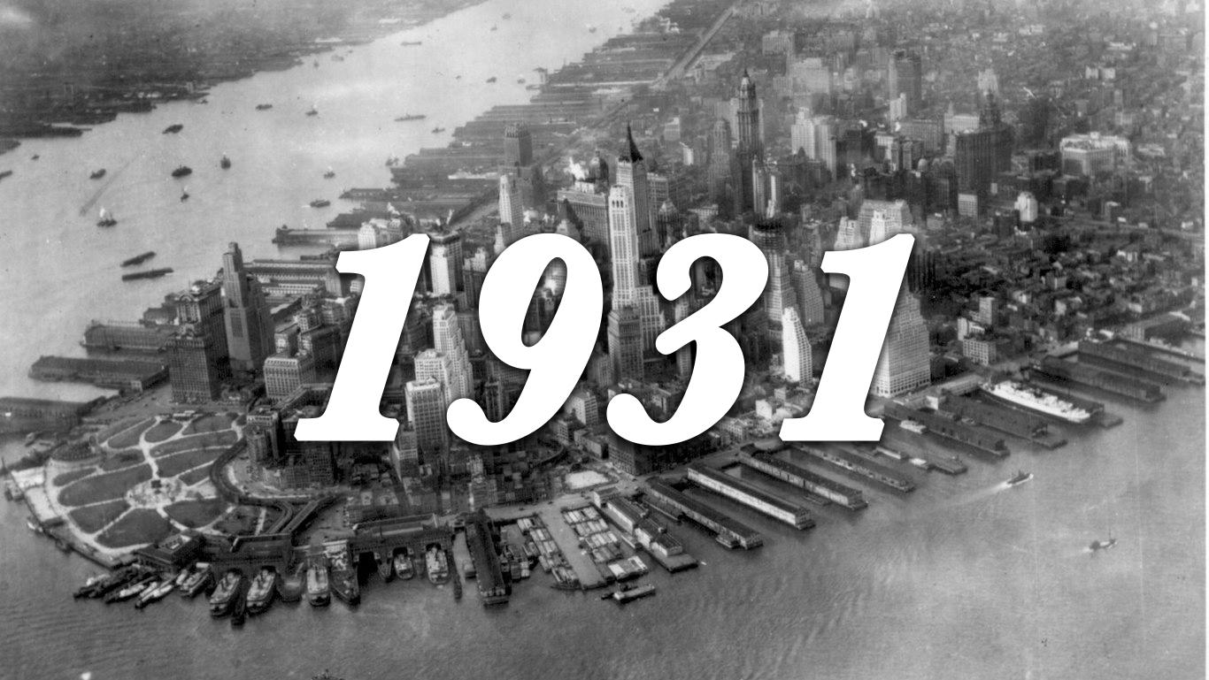 1931 Manhattan