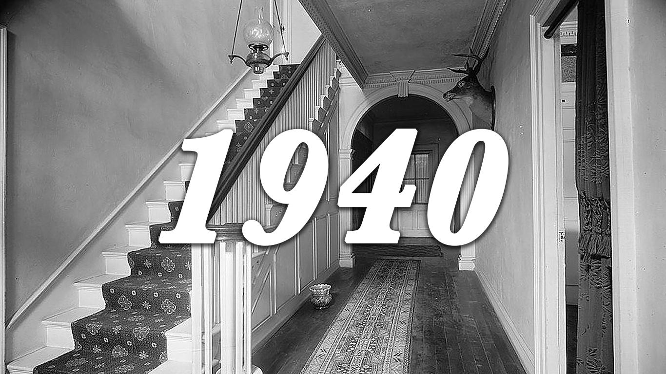 1940 house interior