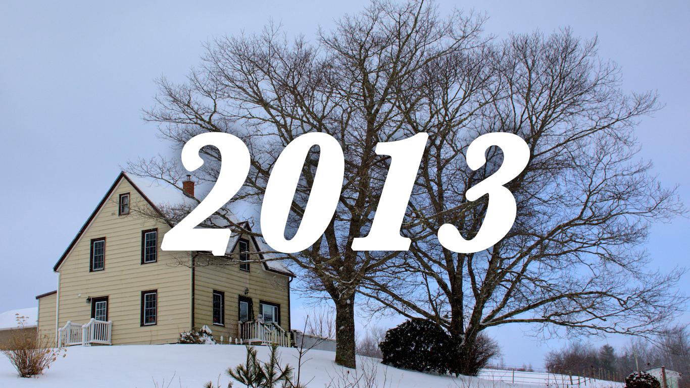 2013 house