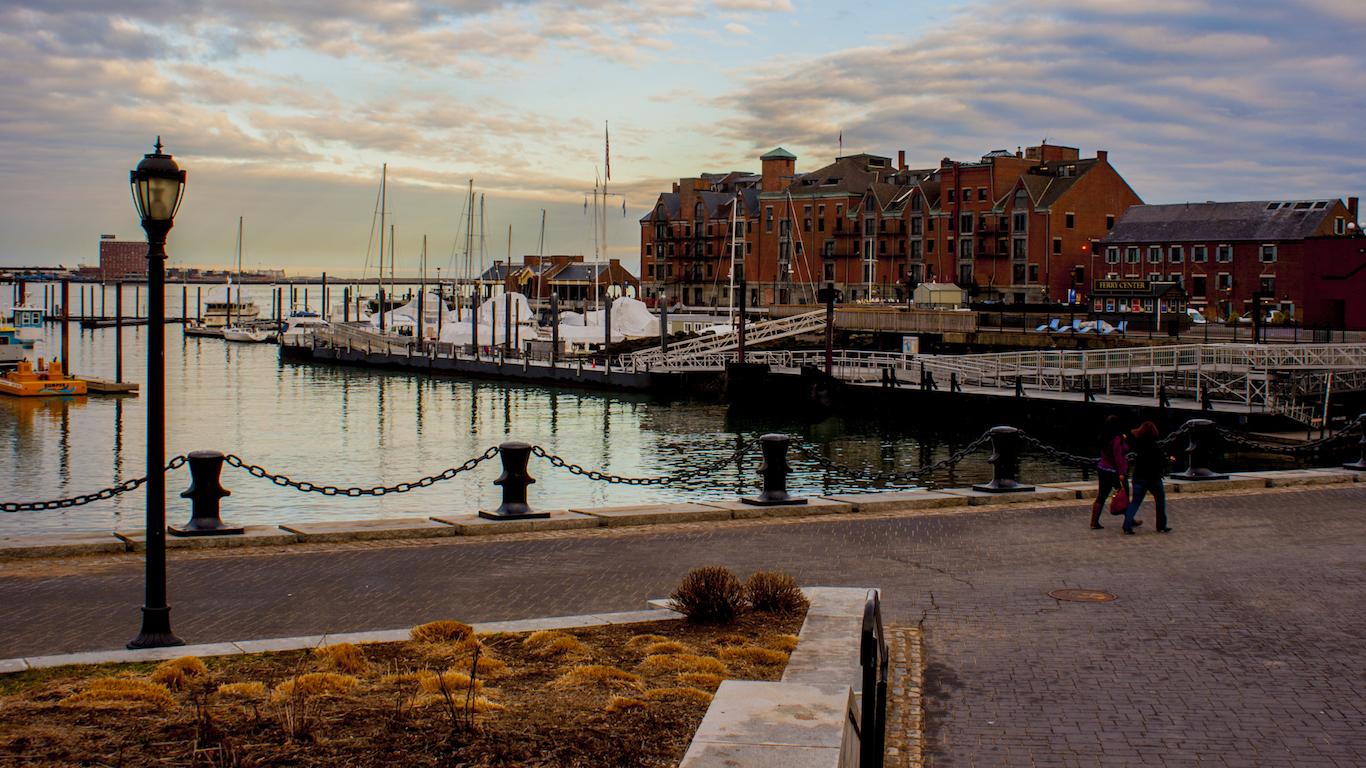 Boston docks, Massachusetts