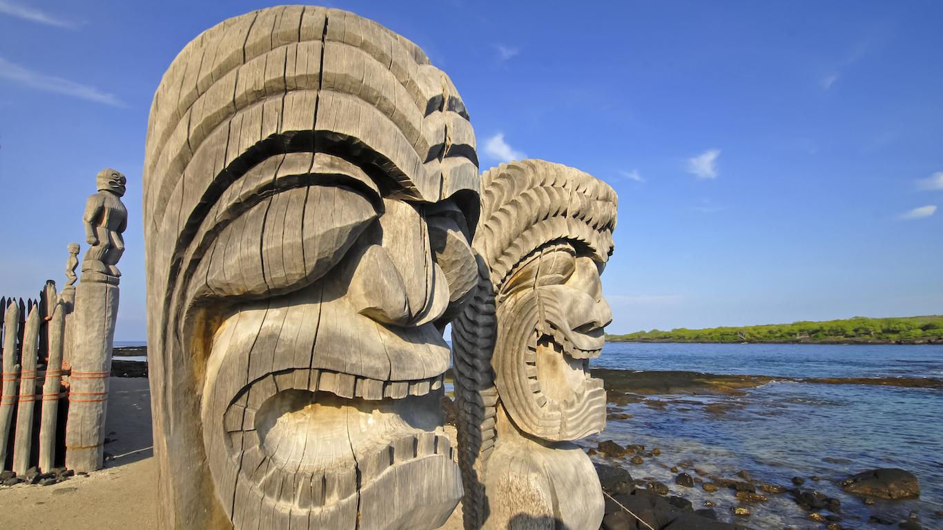 Ki'i Carving, Hawaii
