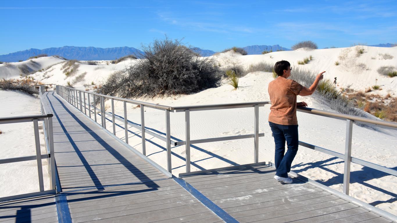 New Mexico, Desert hiking