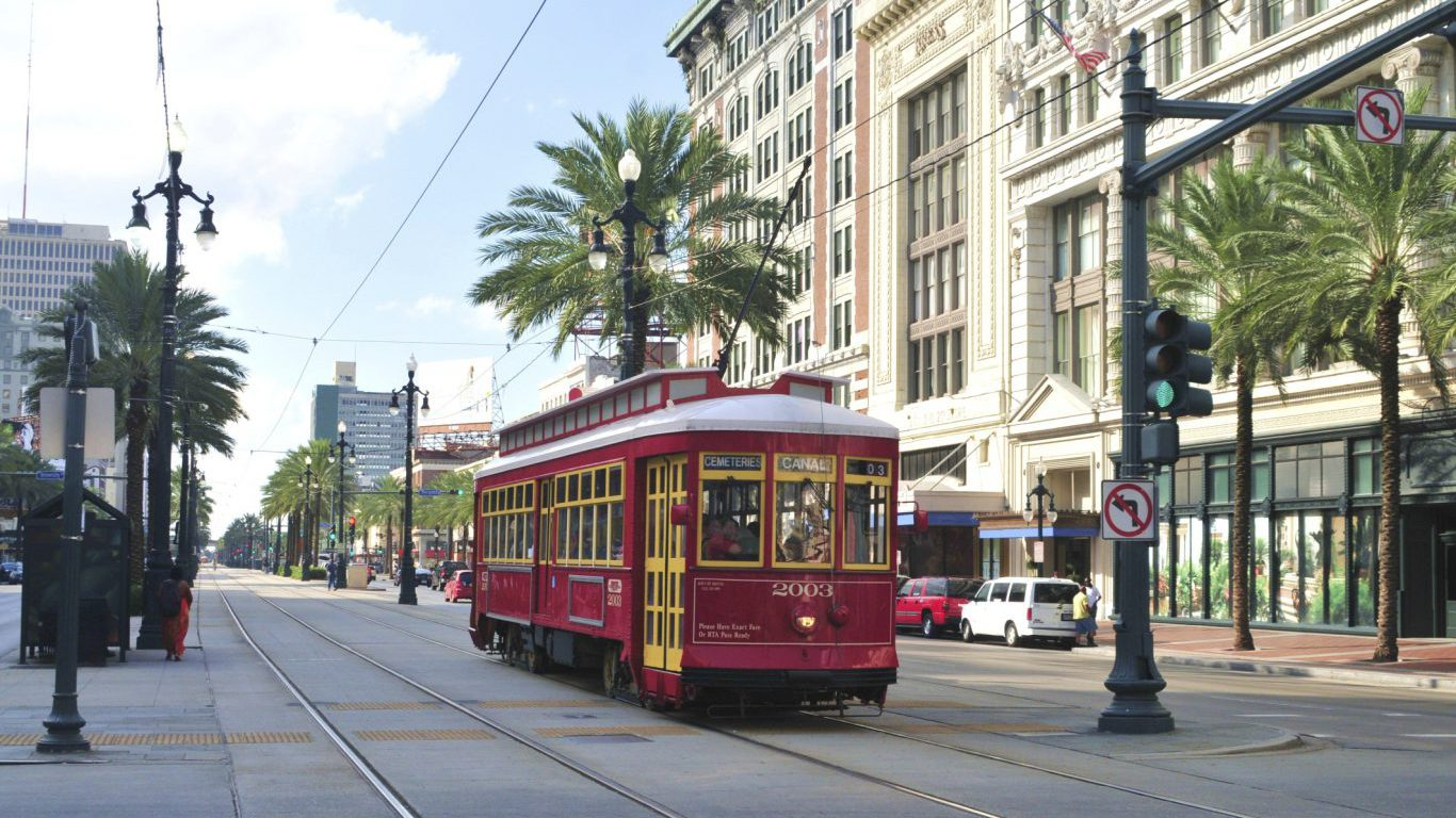 Street car, New Orleans, Louisiana