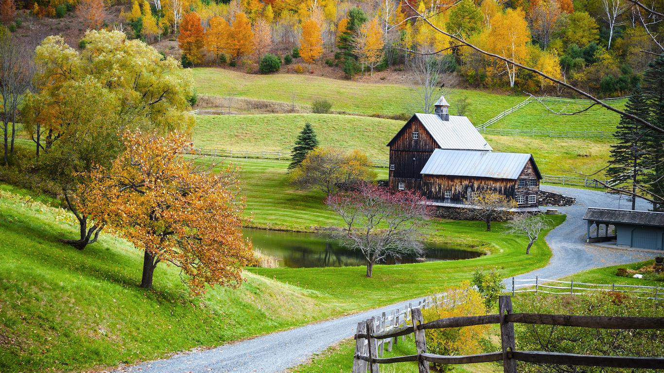 Vermont farm house