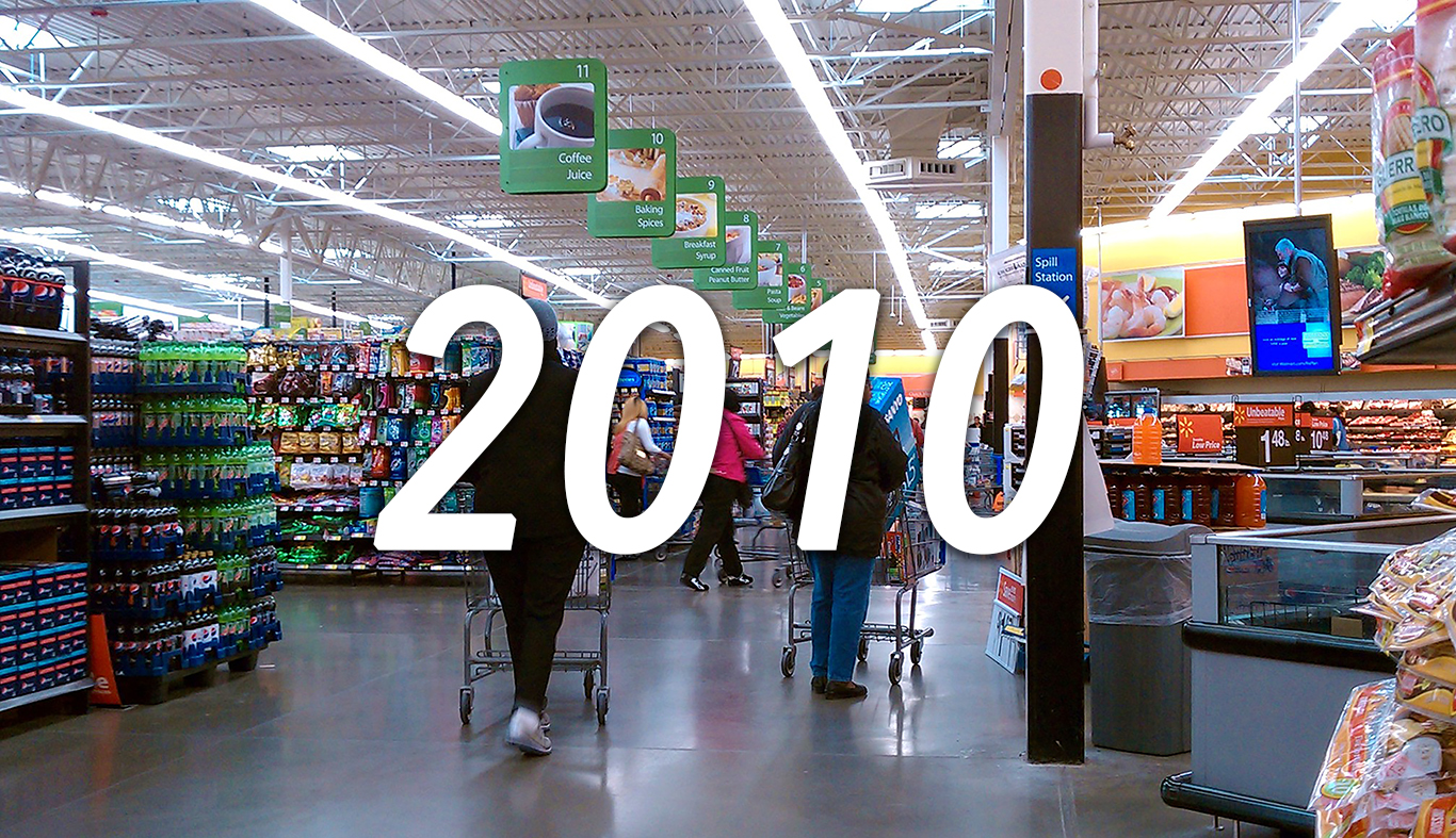 Walmart, 2010