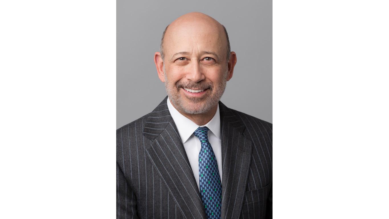 Lloyd C. Blankfein, Goldman Sachs