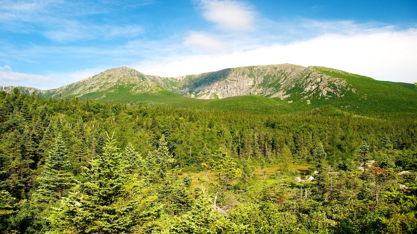 Mount Katahdin, Baxter State Park, Maine