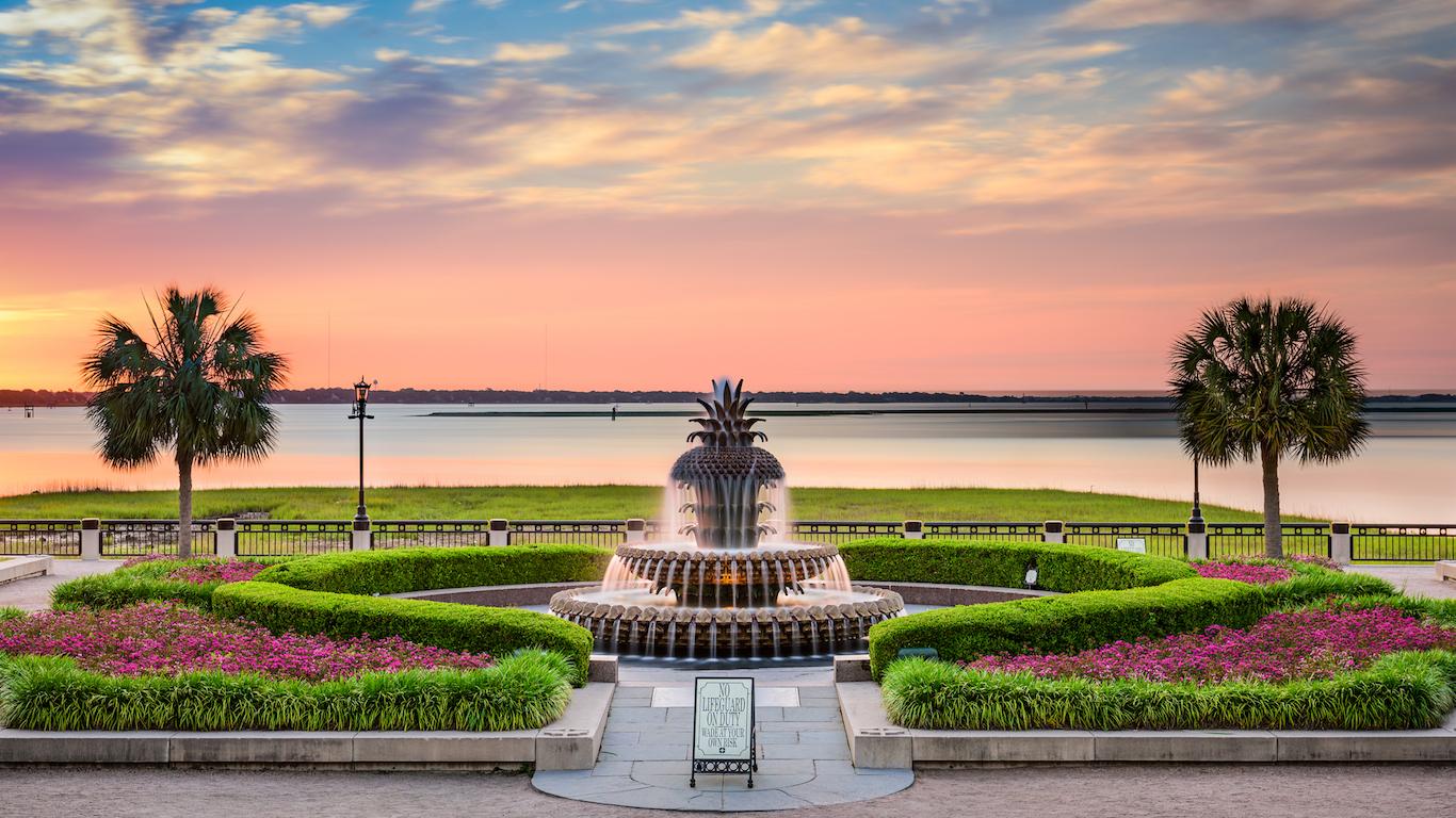 Waterfront Park Charleston, South Carolina