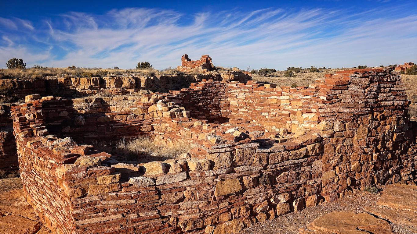 Pueblo Indian Ruins at Wupatki National Monument