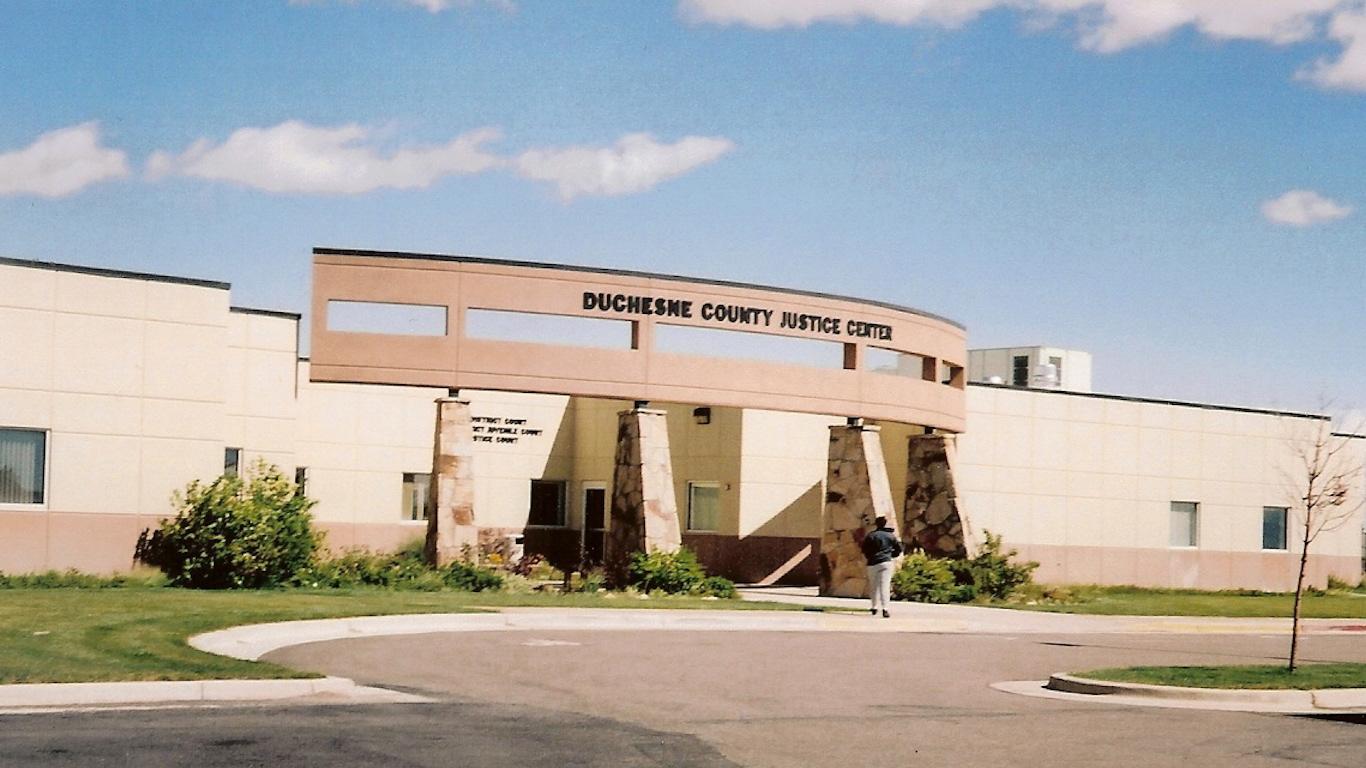 Duchesne County Courthouse, Utah