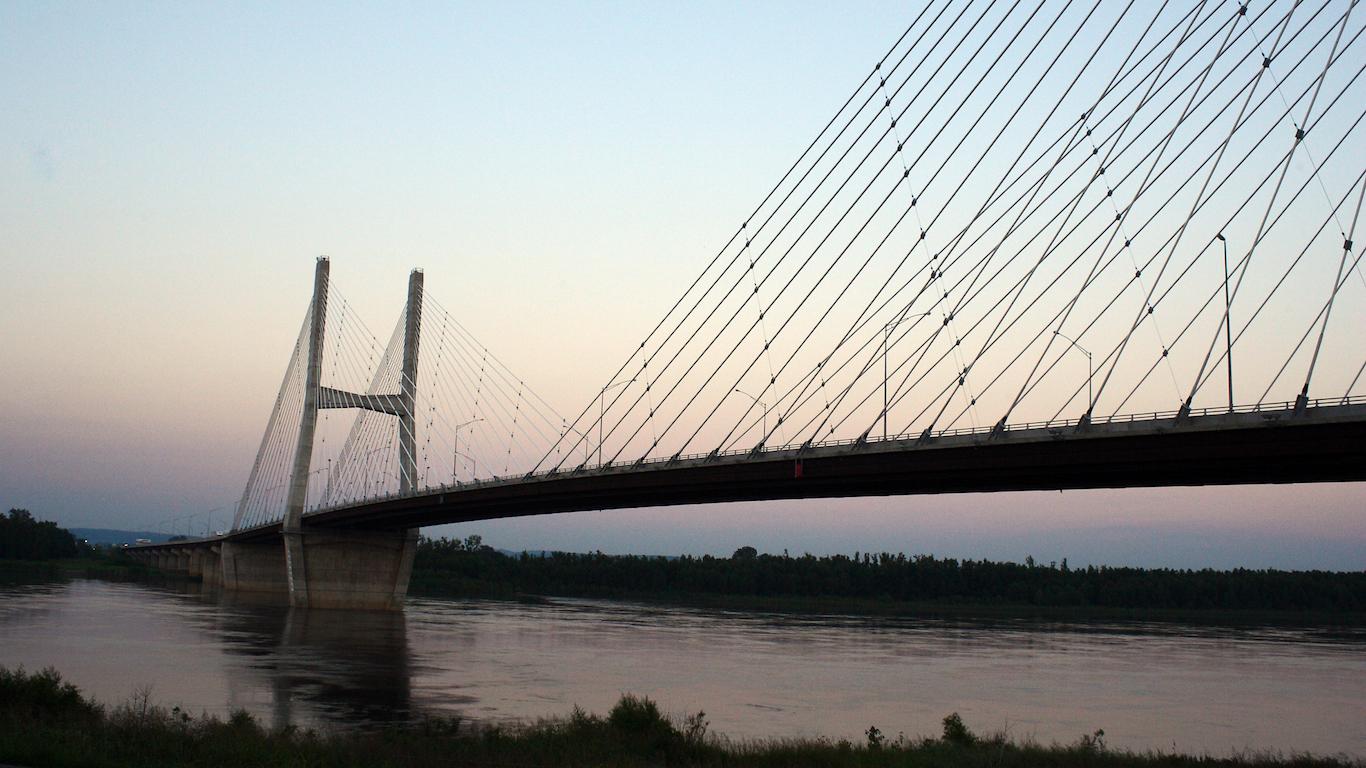 Bill Emerson Memorial Bridge, Cape Girardeau, Missouri, Illinois