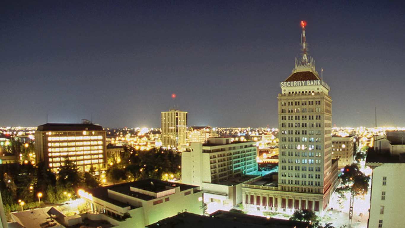 Fresno, California night