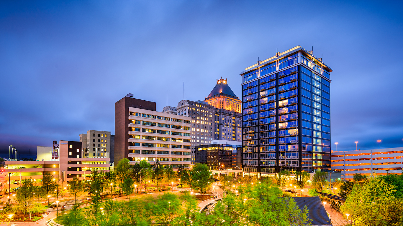 Greensboro, North Carolina Skyline