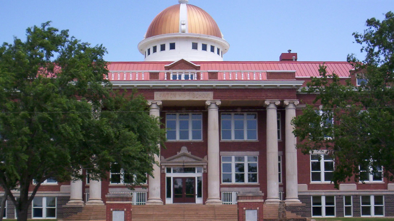 Lawton, Oklahoma high school