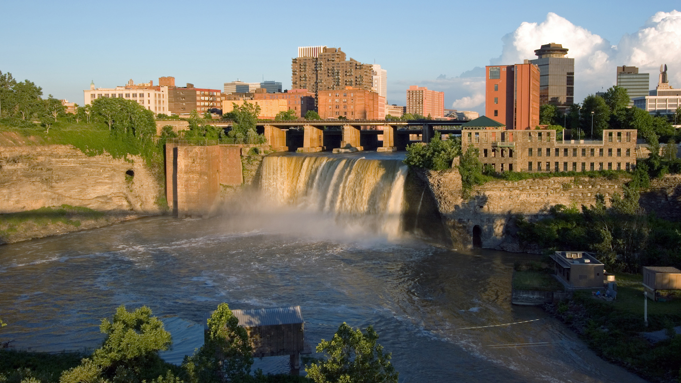 High Falls on the Genesee, Rochester, New York