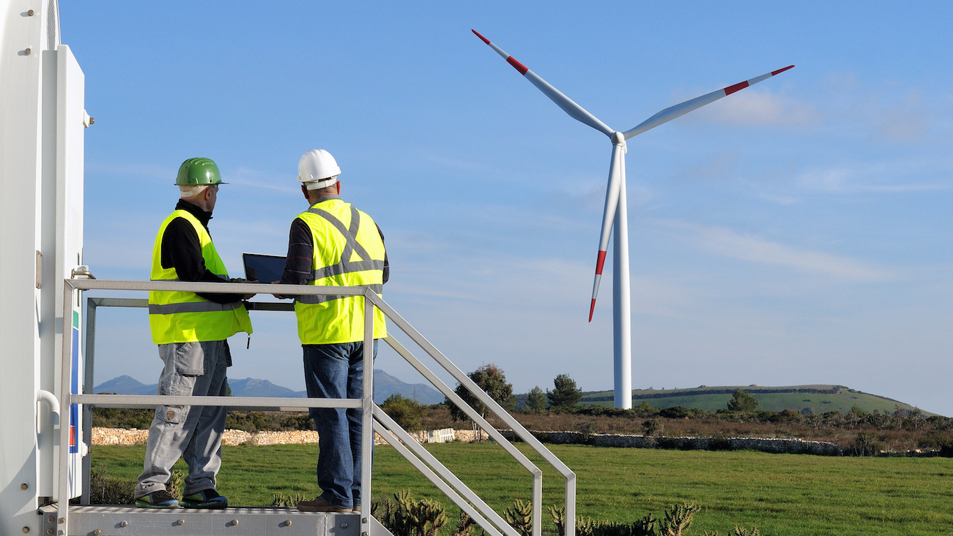 Wind turbine service technicians