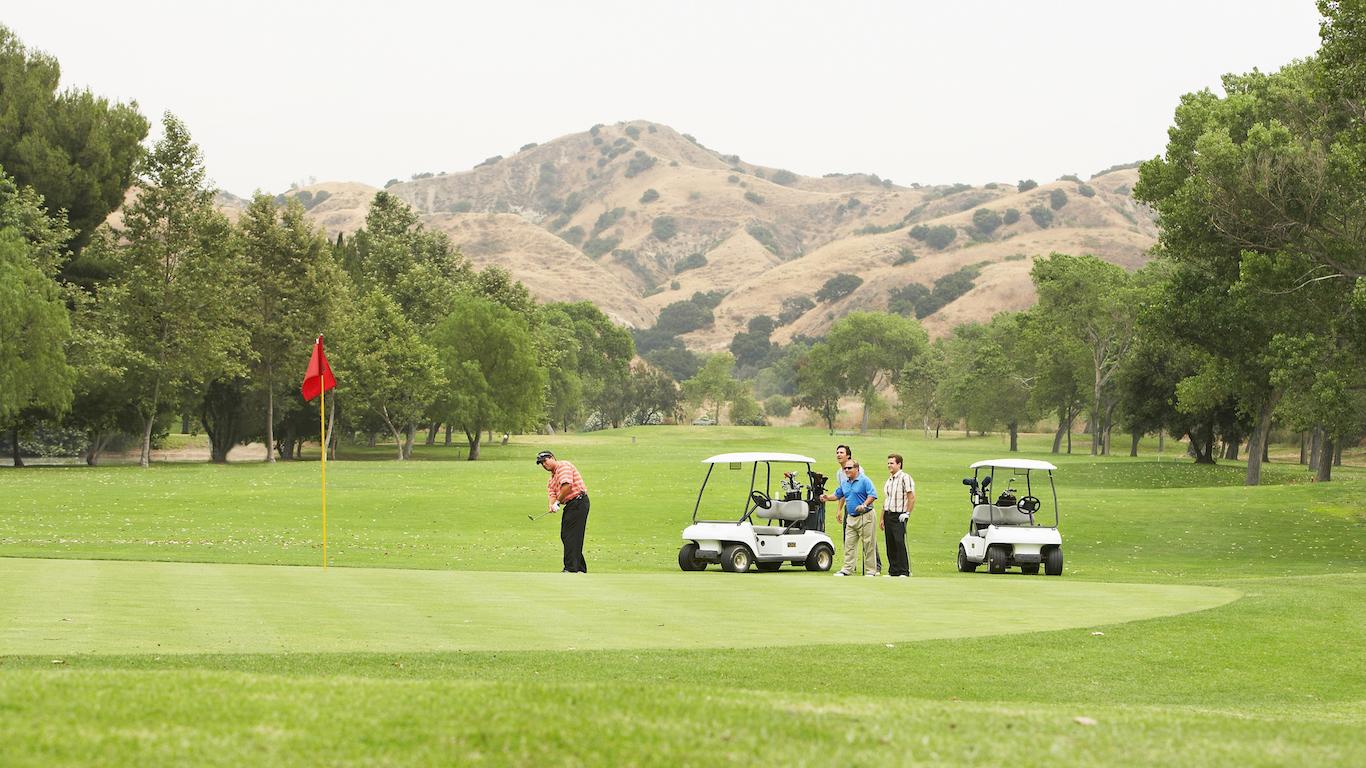 Corona, California golf