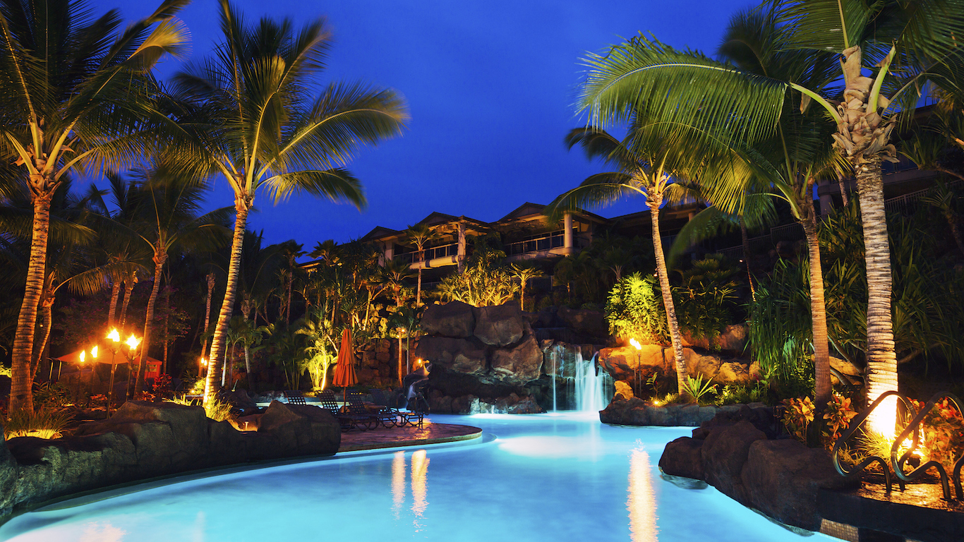 Tropical Resort Hawaii Accomodations