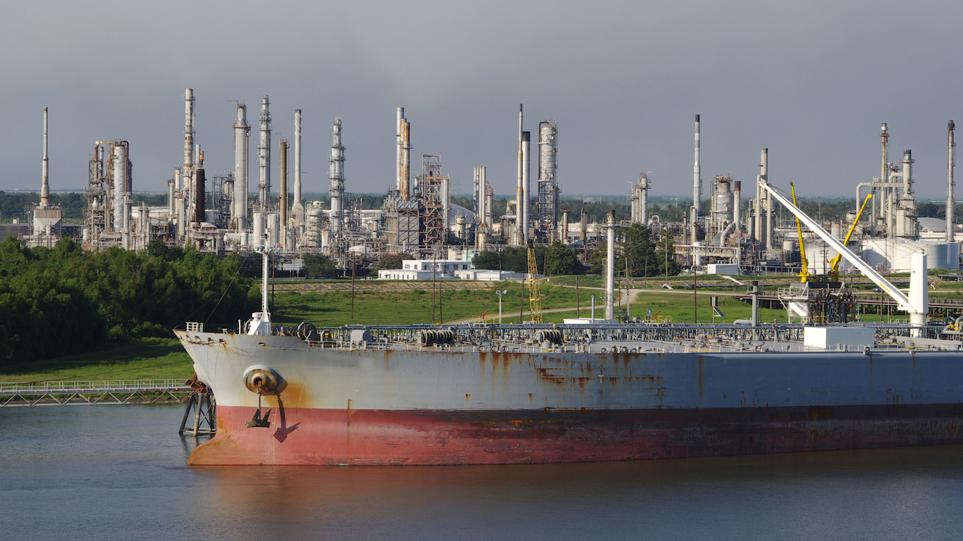 Petroleum Refinery and Tanker, Mississippi