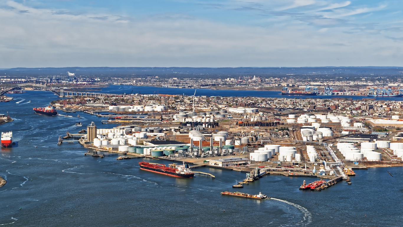 Port Newark, Petroleum, New Jersey