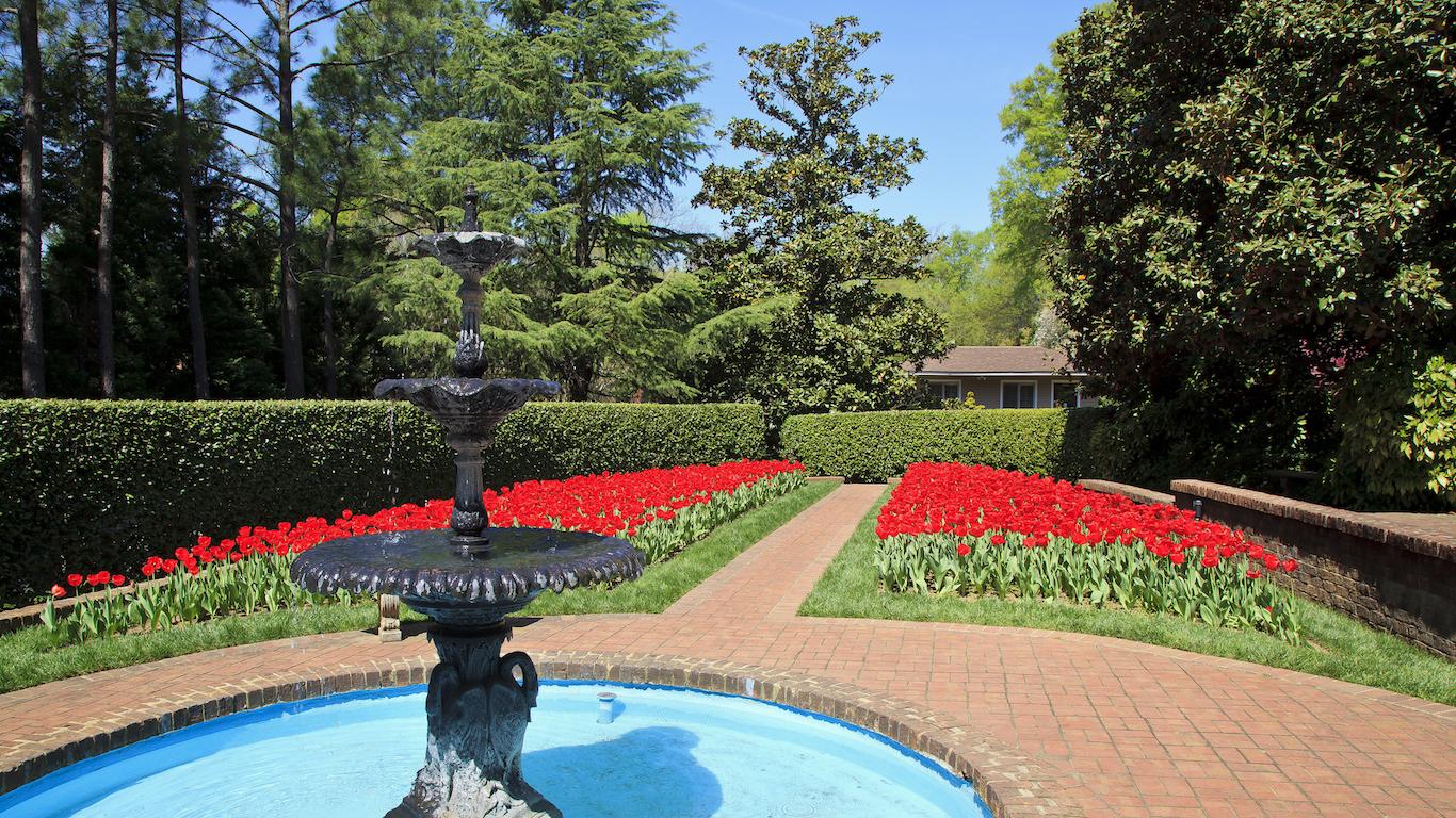 Concord Memorial Garden, North Carolina